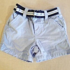 Gymboree boys belted shorts